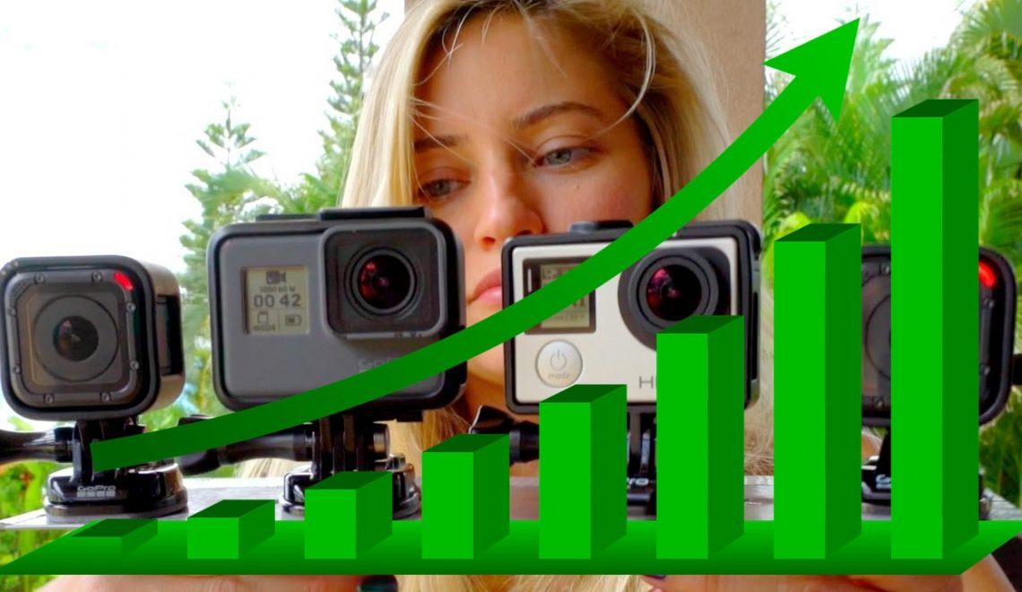 חברת GoPro חוזרת למסלול הרווחים