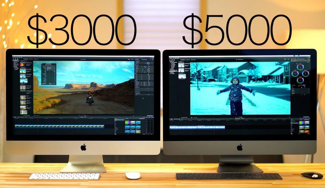השוואה בין iMAC Pro ל2017 5K iMac בעריכת וידאו