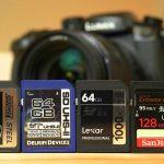 כרטיסי הזיכרון הטובים לצילום 4k