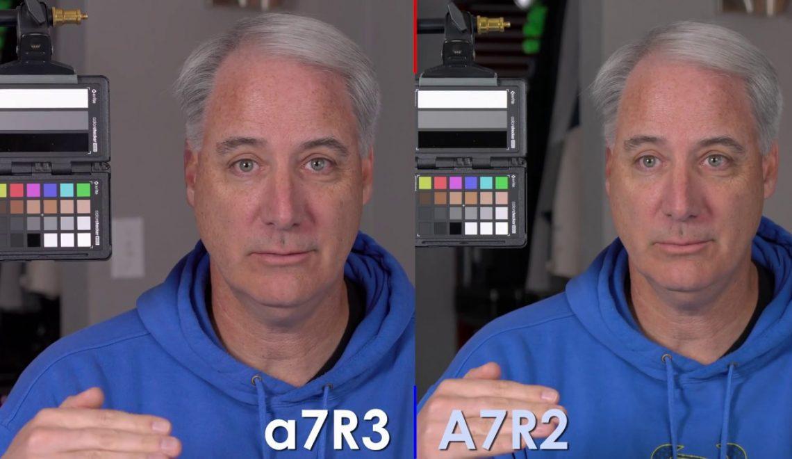 האם יש הבדל בצבע בין a7R II לגרסה החדשה a7R III?