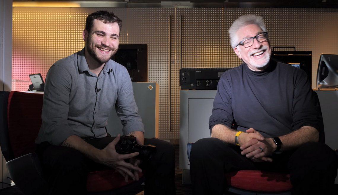 ראיון עם Sean Robinson מפנסוניק על GH5s