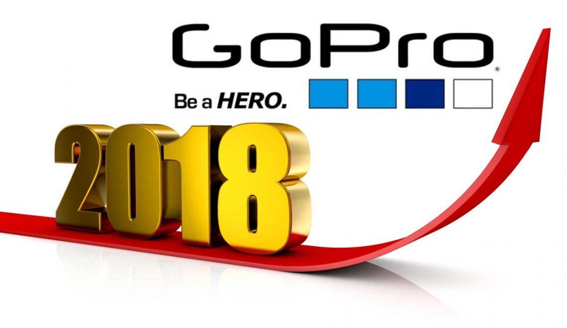 חברת GoPro מתכננת מוצרים חדשים בשנת 2018
