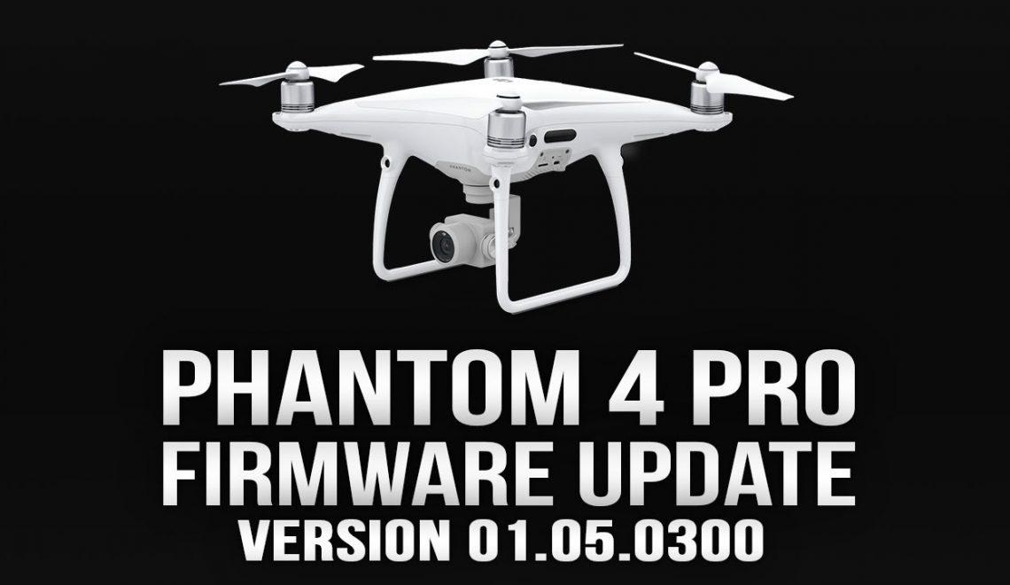 עדכון חומרה לרחפן Phantom 4 Pro