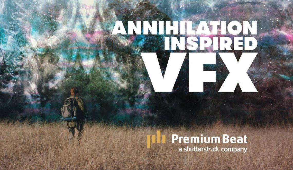יצירת קיר VFX שמופיע בסרט Annihilation