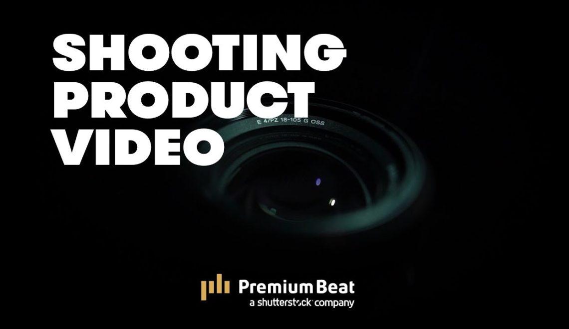 צילום וידאו של מוצרים
