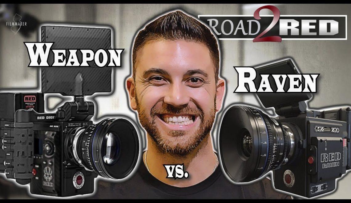 השוואה בין שתי מצלמות RED באיכות 8k לעומת 4.5k