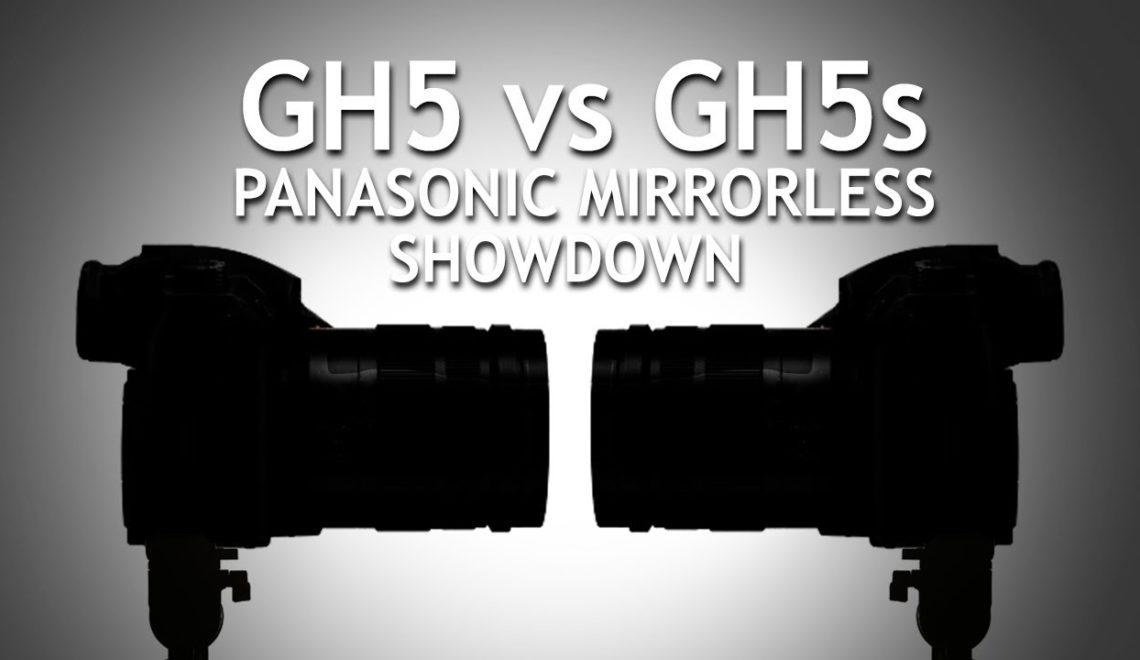 השוואה בין GH5 ל-GH5s