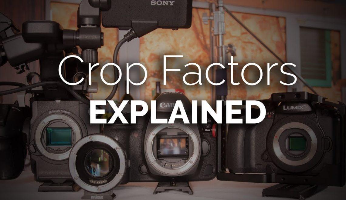 הסבר על נושא החיתוך (Crop) בעדשות