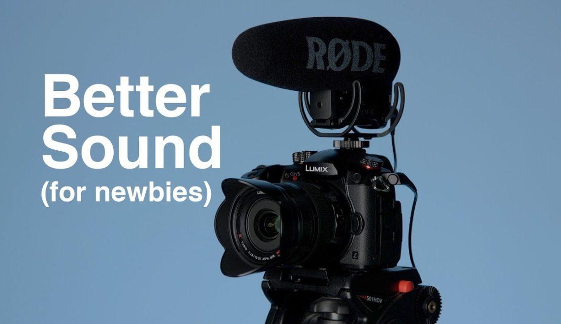 סאונד טוב יותר לווידאו – בסיס למתחילים