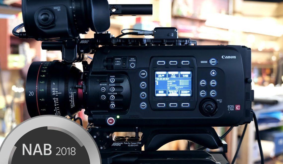 ראיון עם אנשי קנון על מצלמת C700 FF