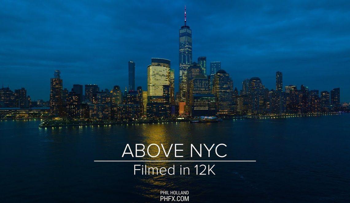 ניו יורק ממעוף ציפור ב-12k
