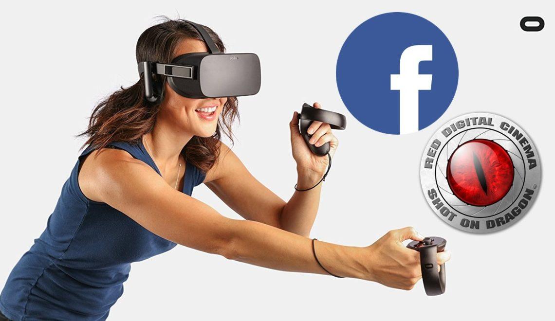 יצרנית המצלמותREDבשיתוף פעולה עם פייסבוק