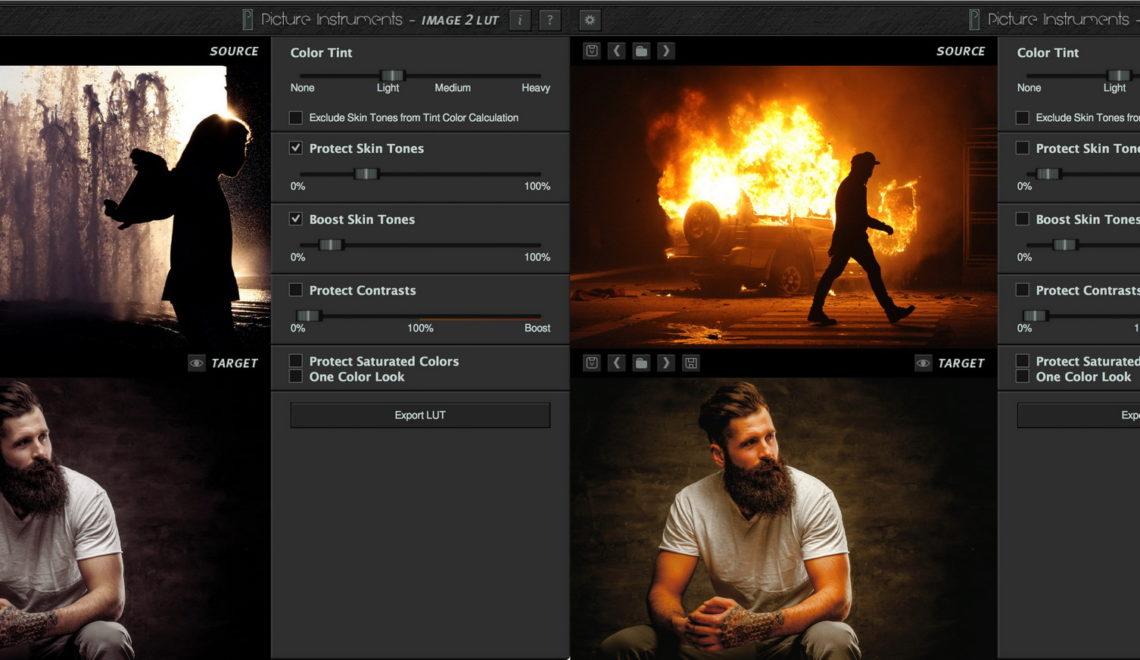 תוכנה חדשה המאפשרת העתקה של פרופיל הצבע של כל תמונה