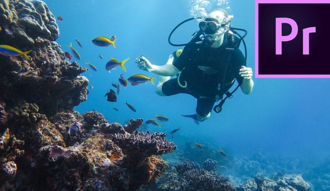 יצירת אפקט סאונד מתחת למים עם פרמייר