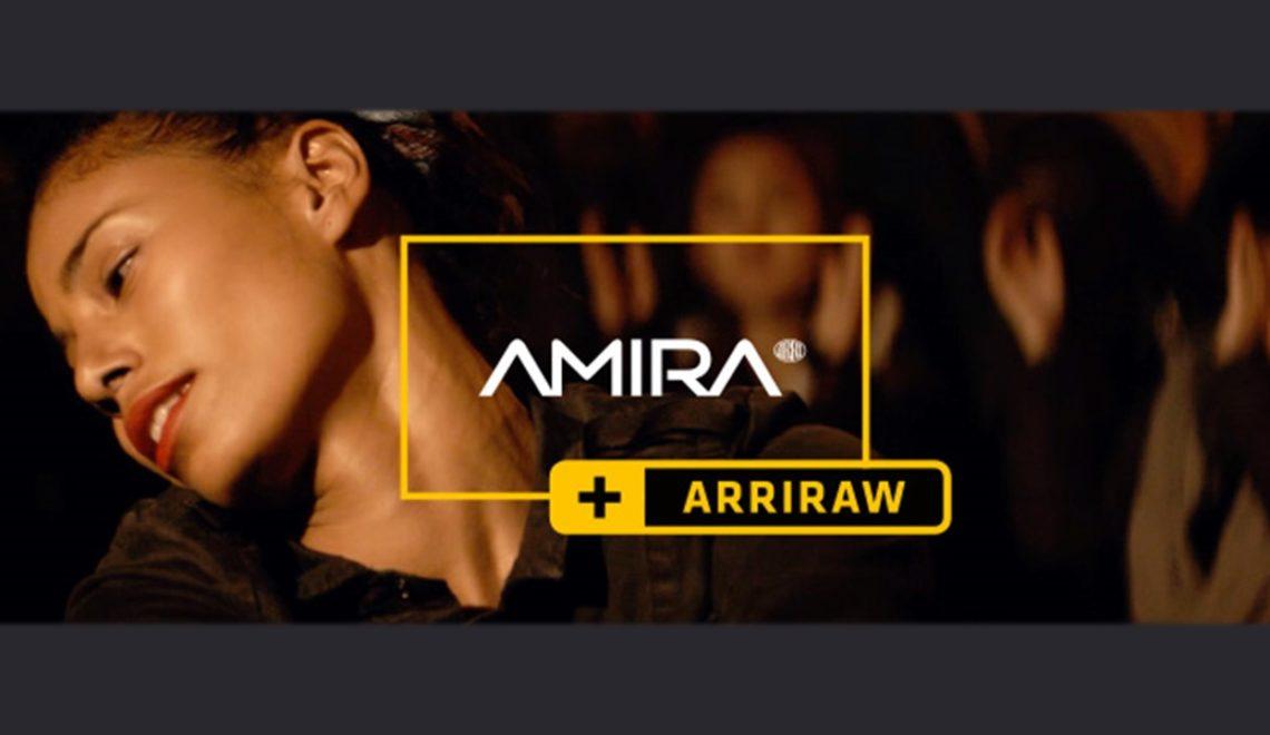 מצלמת Amira מקבלת עדכון להקלטת ArriRAW