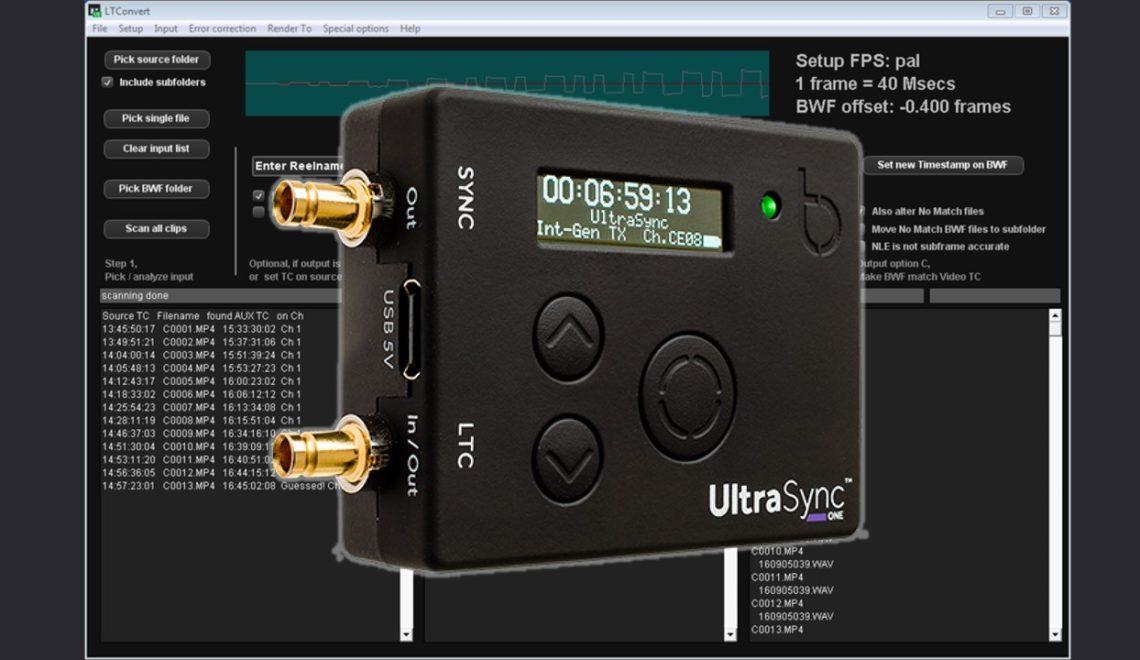 הוספת בסיס זמן (TC) לצילום עם DSLR