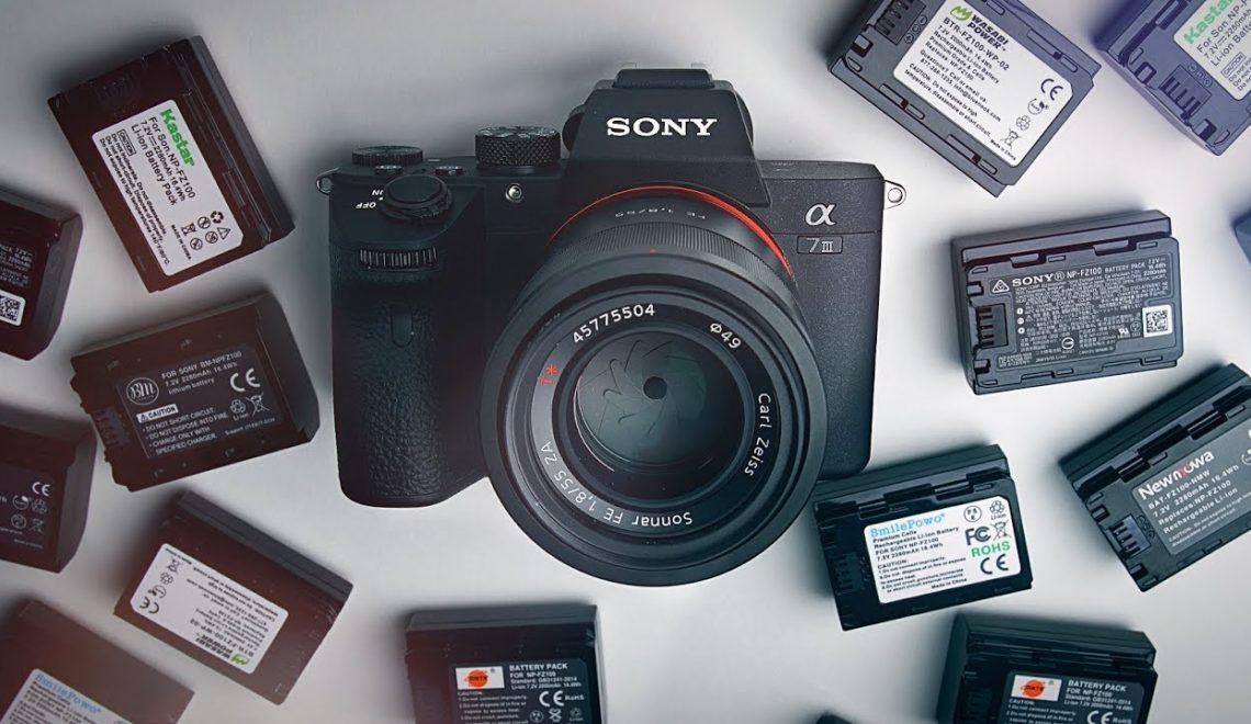 הסוללות הטובות ביותר למצלמת a7 III במחיר נורמלי