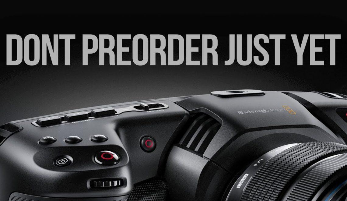 חמישה דברים שצריך לקחת בחשבון לפני שרוכשים את מצלמת הכיס של BlackMagic