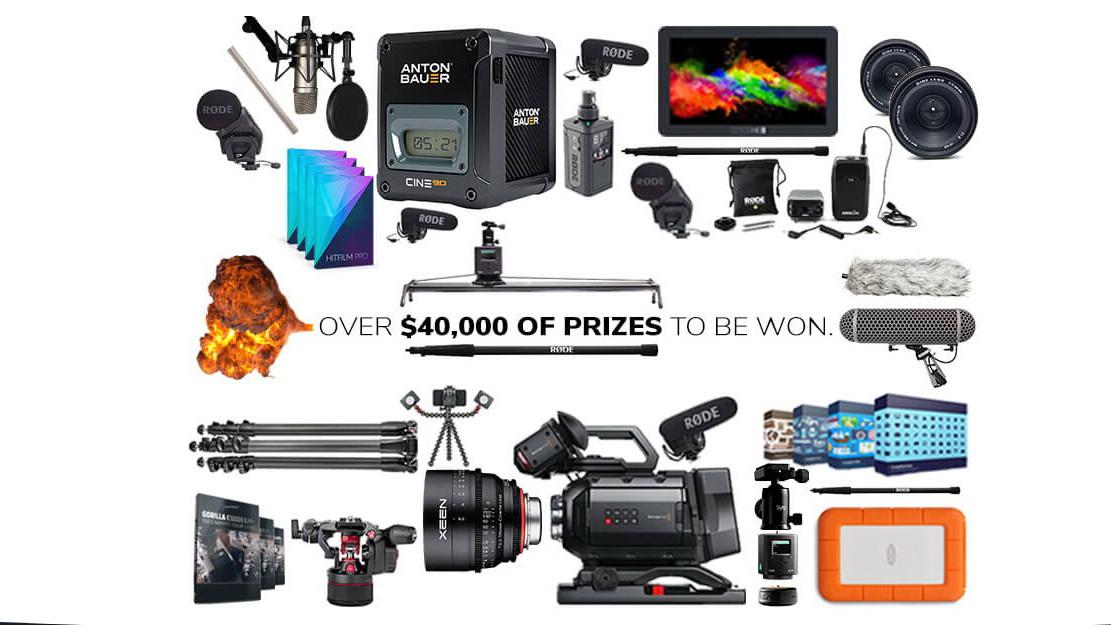 פרסים בשווי של 40,000 דולר לתחרות סרט קצר