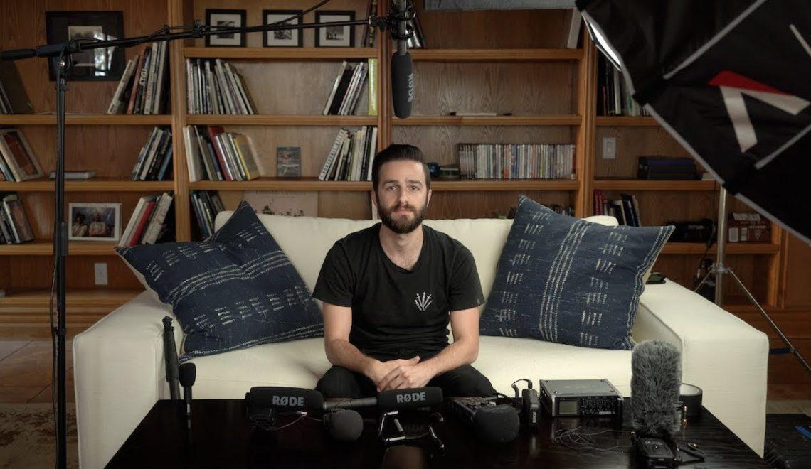 הקלטת סאונד בצילום ראיונות