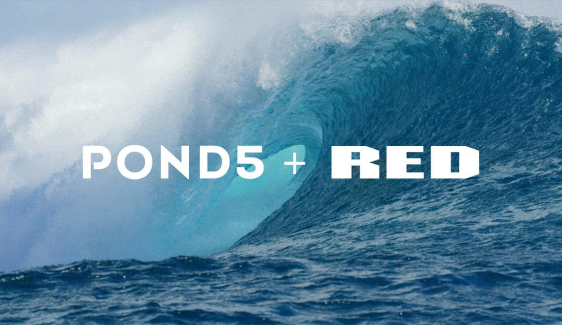 שיתוף פעולה בין Pond5 ל-RED