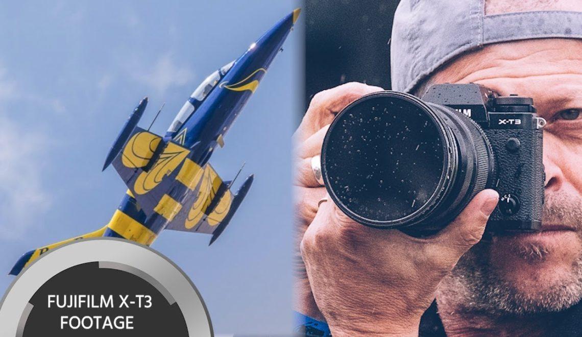 סקירה של מצלמת X-T3