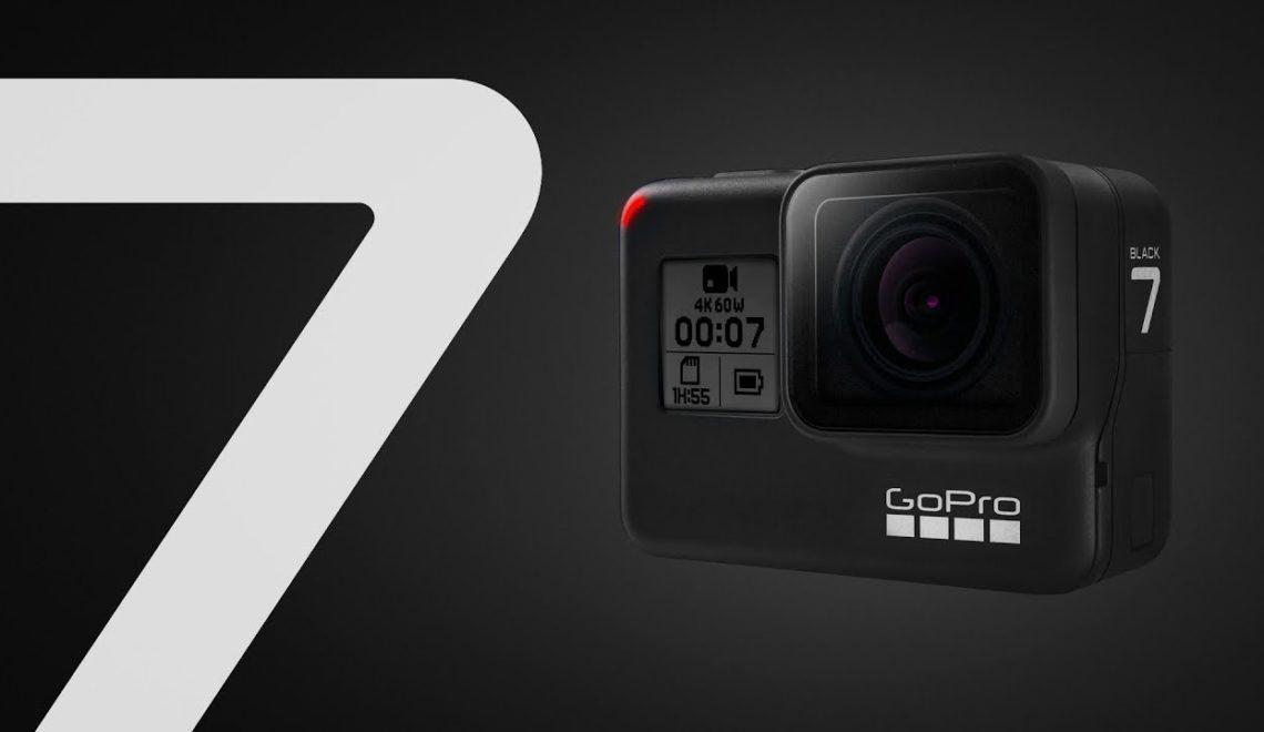 הושקה מצלמת האקשן גרסה 7 של GoPro
