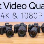 השוואת איכות וידאו בין מצלמות של החברות המובילות