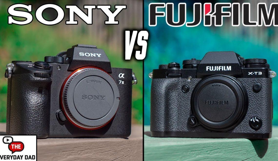 השוואה בין a7 III למצלמת XT-3