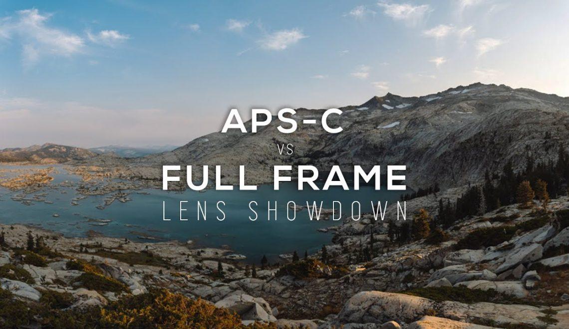 עדשות APSc עם מצלמות Full Frame