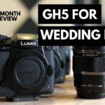 מצלמת GH5/s לצלמי חתונות