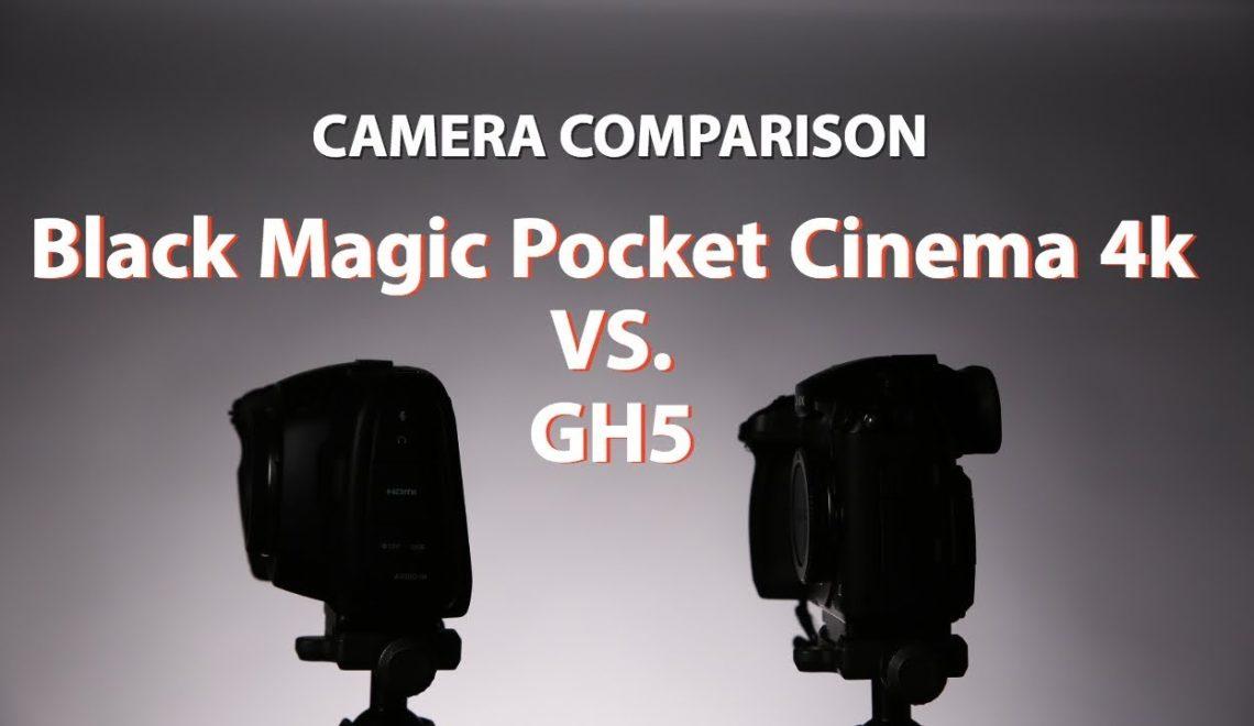 השוואה של מצלמת הפוקט למצלמת GH5