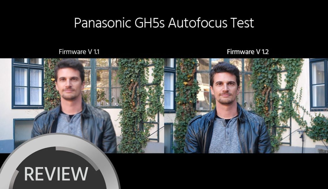 עדכון למצלמות GH5, GH5s ו-G9