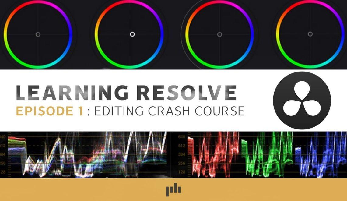 קורס מהיר ב- Resolve שיעור ראשון