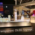 מסך OLED שקוף של LG
