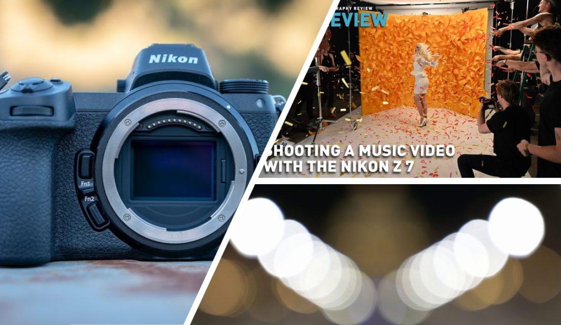 שלוש בדיקות של מצלמת Z7 של ניקון