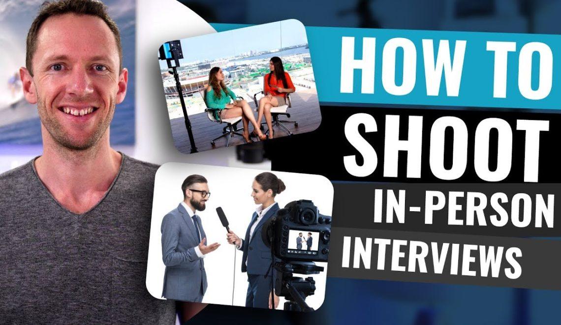 צילום ראיון עם שני אנשים ויותר