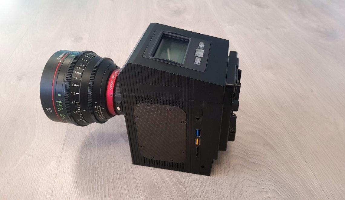 פורסם מחיר מצלמת ה-8k של Cinemartin