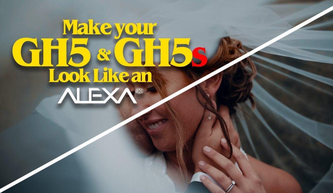 להפוך את GH5/GH5s למצלמת אלקסה