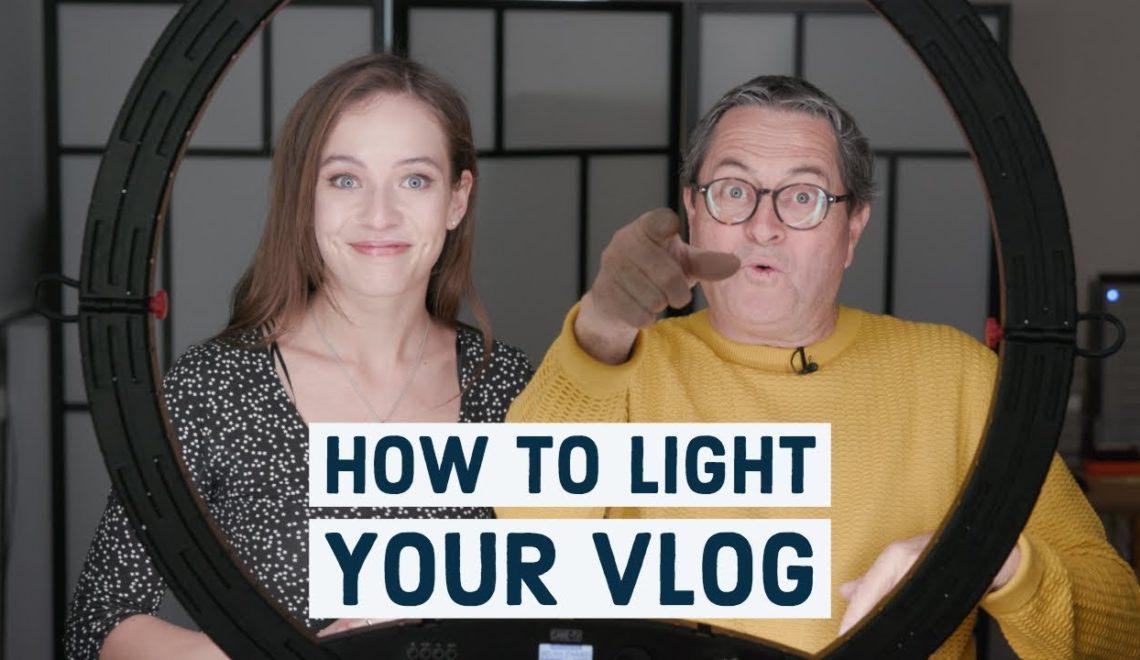 כיצד להאיר בלוג וידאו