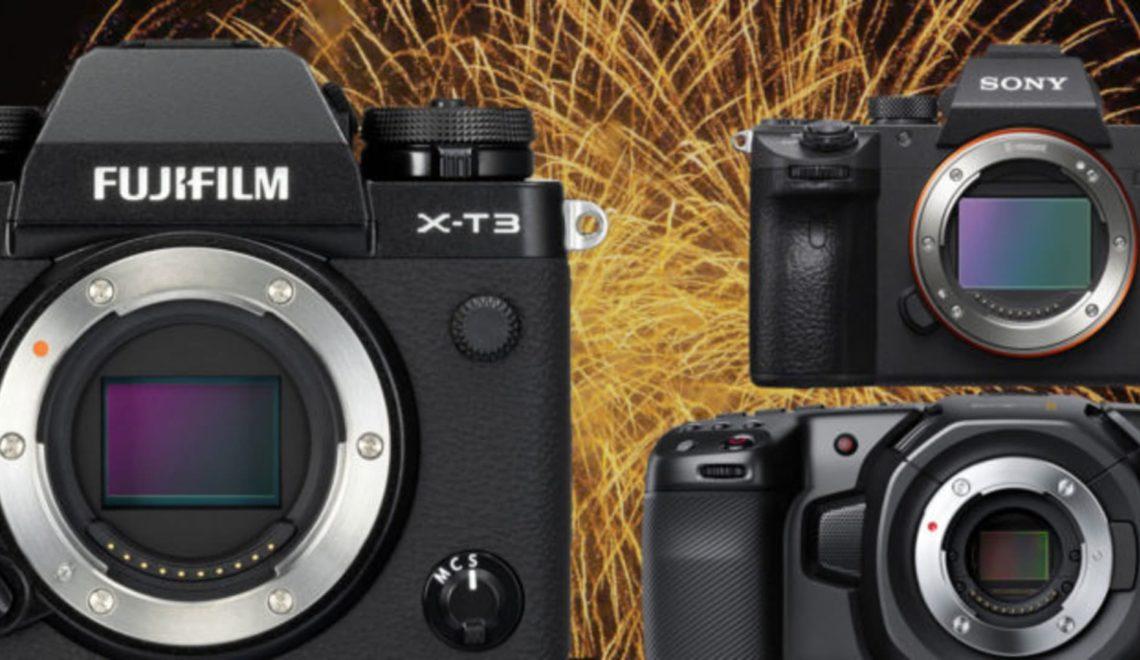 רשימת המצלמות ללא מראה הטובות ביותר לשנת 2018