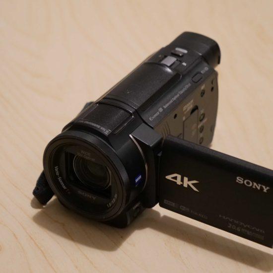 מצלמת וידאו סוני fdr-ax33