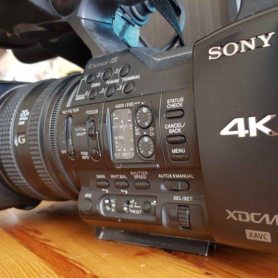 מצלמה SONY Z100 4K במצב חדש