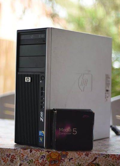 מחשב עריכה HP Z400 + Avid MC 5.5.5