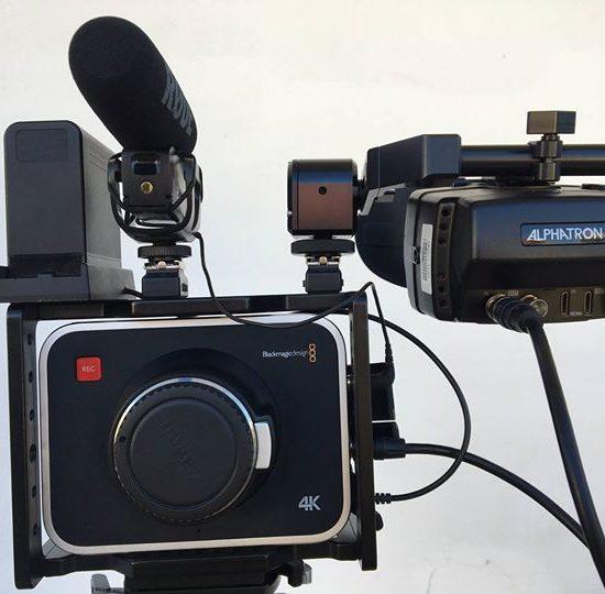 עם אביזרים נלווים שמורה ויפהיפיה Black Magic Production Camera 4K Canon EF Mount