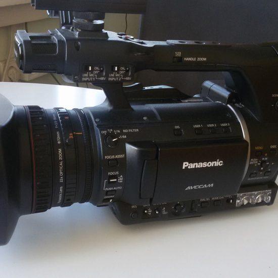 מצלמה פנסוניק AG-AC160A מקור הטקסט – אתר av.co.il קישור לכתבה