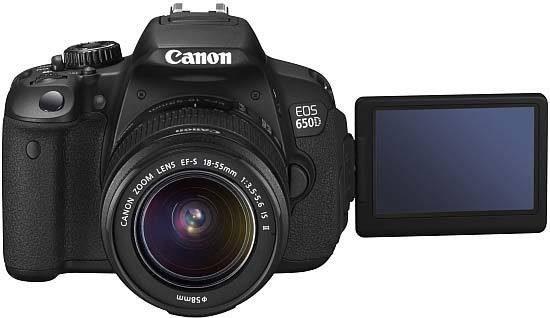 מצלמת canon 650d