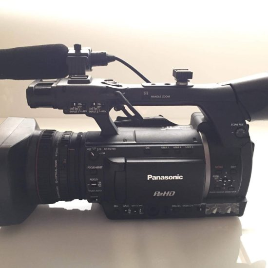 Panasonic AG-HPX250 P2HD