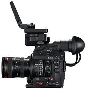 מצלמת C-300 EF mount mark2 + ציוד נלווה