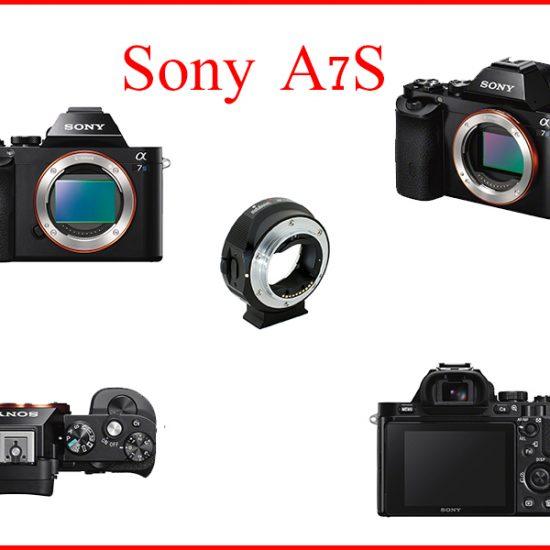 Sony A7S + מטהבונס לעדשות קנון